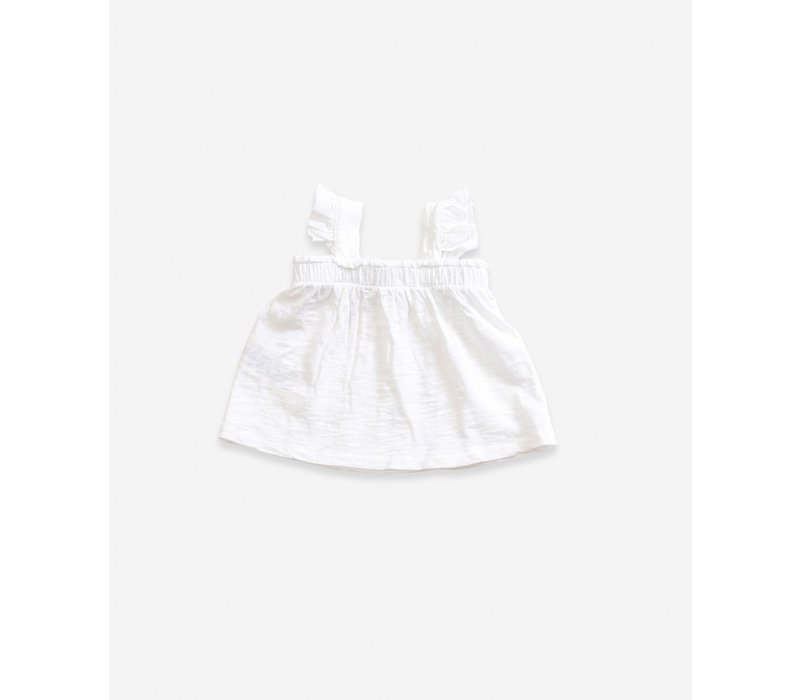 Cotton  Top with frill insert