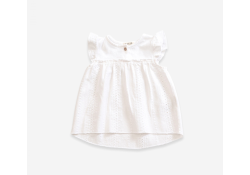 Play up Cotton Tunic with English stitching