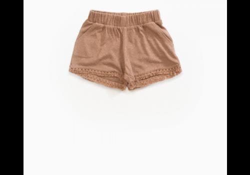 Play up Hemp Shorts with fringe