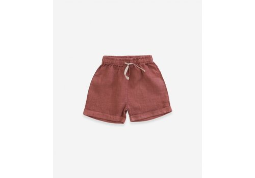 Play up Old Tile Linen Shorts