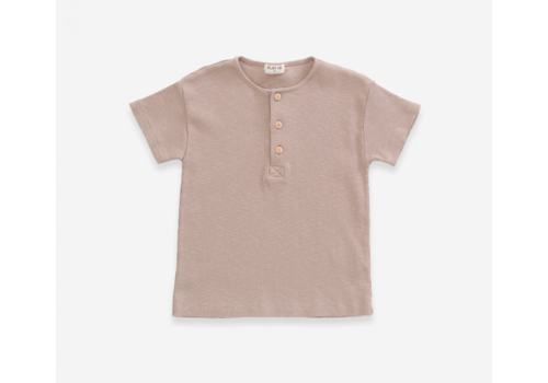 Play up Jute  T-shirt in organic cotton
