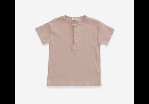 Play up Jute  T-shirt in organic cotton