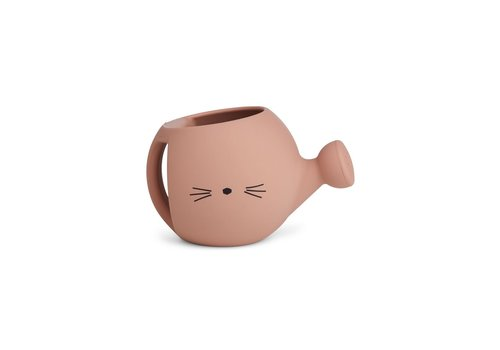 Liewood Lyon watering can Cat dark rose