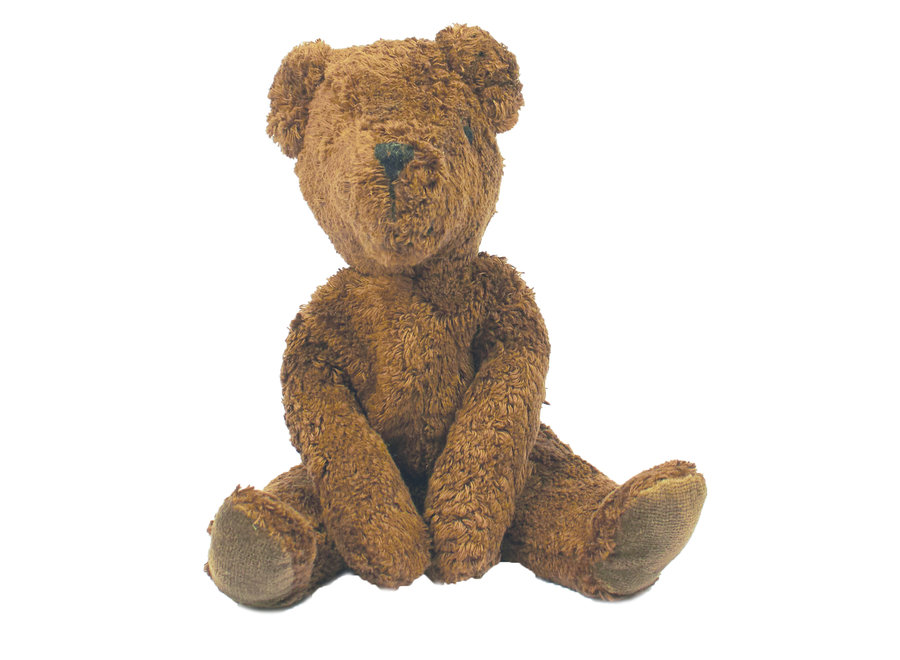 FLOPPY ANIMAL BEAR, SMALL | BROWN