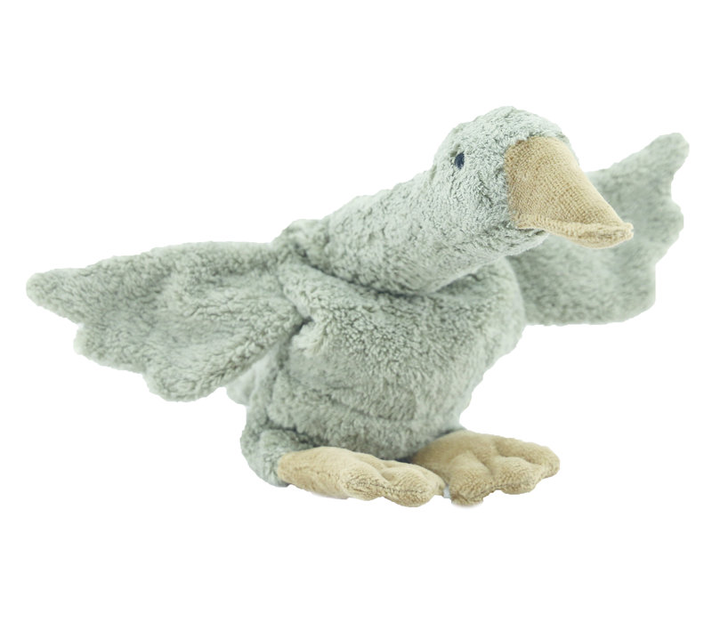CUDDLY ANIMAL GOOSE SMALL | GREY