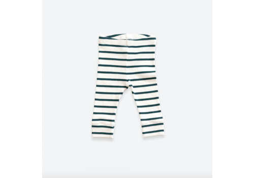 Play up Striped leggings in organic cotton | Old Glass