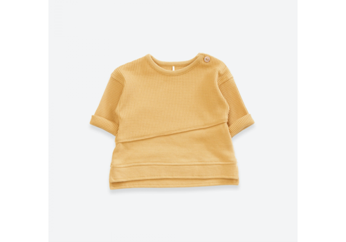 Play up Sweater in organic cotton | Sea Almond