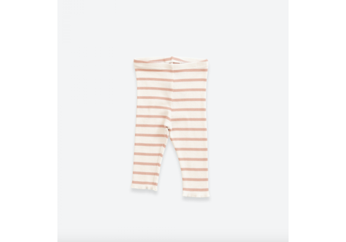 Play up Striped leggings in organic cotton | Smooth