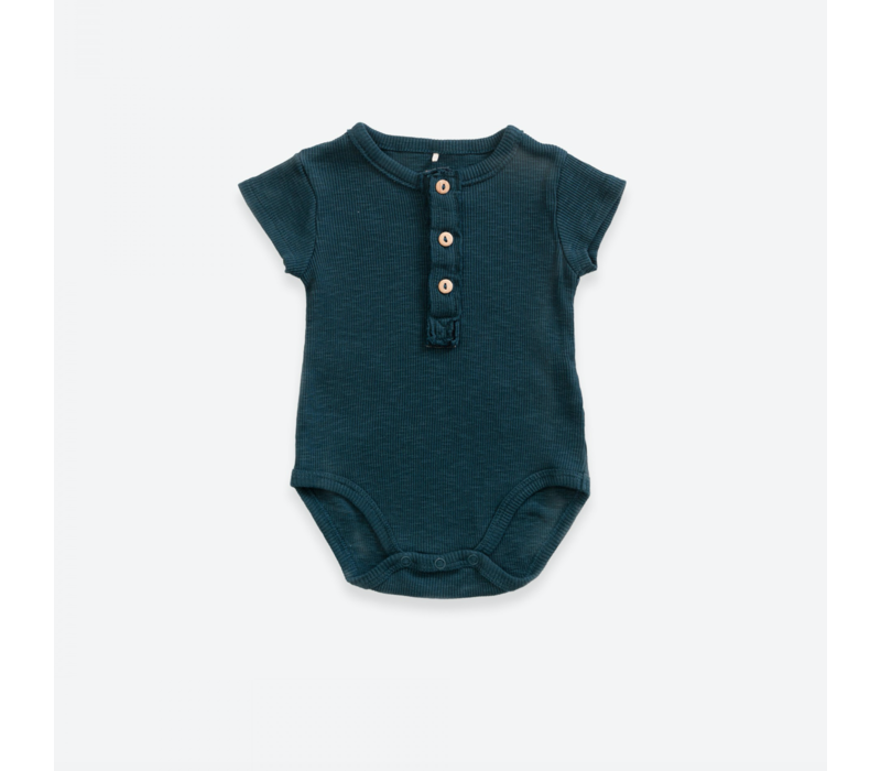 Body with buttons | Deep blue