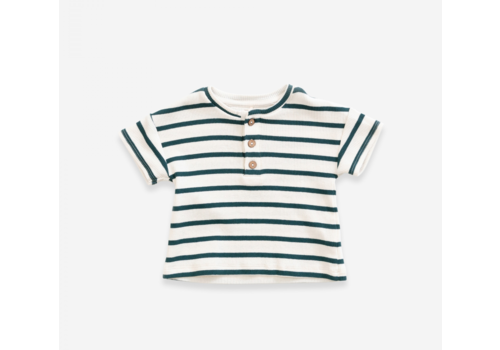 Play up Striped t-shirt in organic cotton | Old Glass