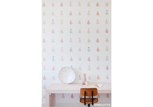 Bibelotte Wallpaper Peertjes roze