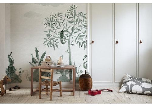 Sandberg Wallpaper Wilton Jade Wallpaper
