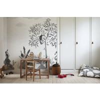Wilton Graphite Wallpaper