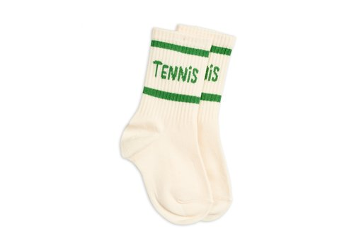 Mini Rodini Tennis socks single Offwhite