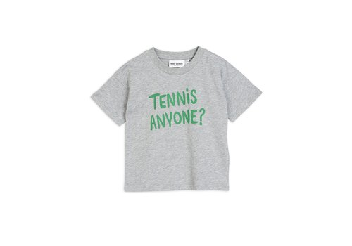Mini Rodini Tennis anyone tee Grey melange