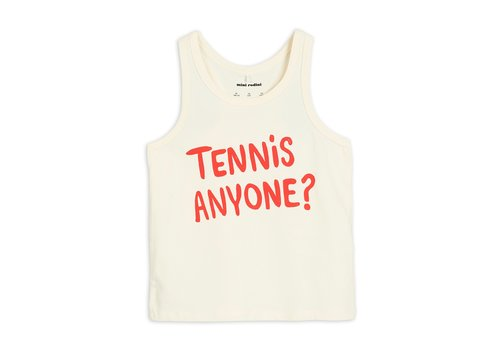 Mini Rodini Tennis anyone tank Offwhite