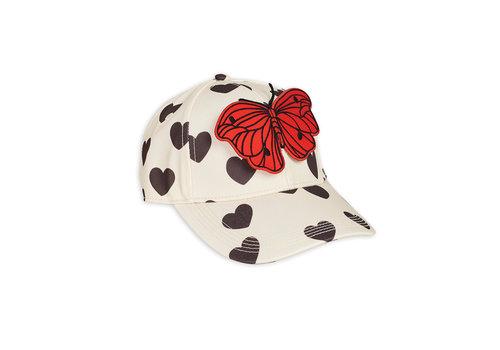 Mini Rodini Hearts cap White
