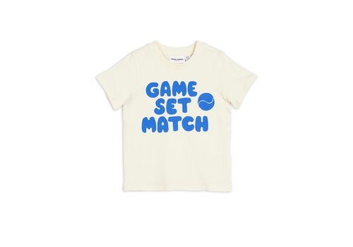 Mini Rodini Game sp tee Blue
