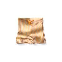 Otto Swim Pants - Y/D stripe: Mustard/white