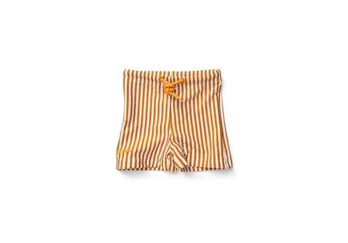 Liewood Otto Swim Pants - Y/D stripe: Mustard/white