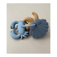 Tonk Mini Teethers 3 Pack - Blue multi mix