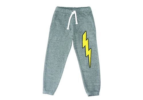 Californian Vintage Lightning Patches Sweatpants