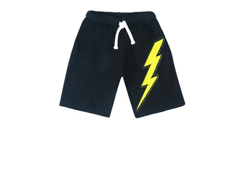 Californian Vintage Lightning Patches Shorts