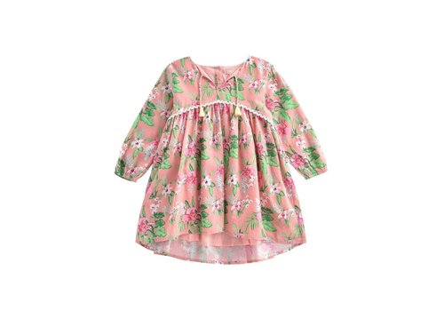 Louise Misha Dress Felizita Sienna Flamingo
