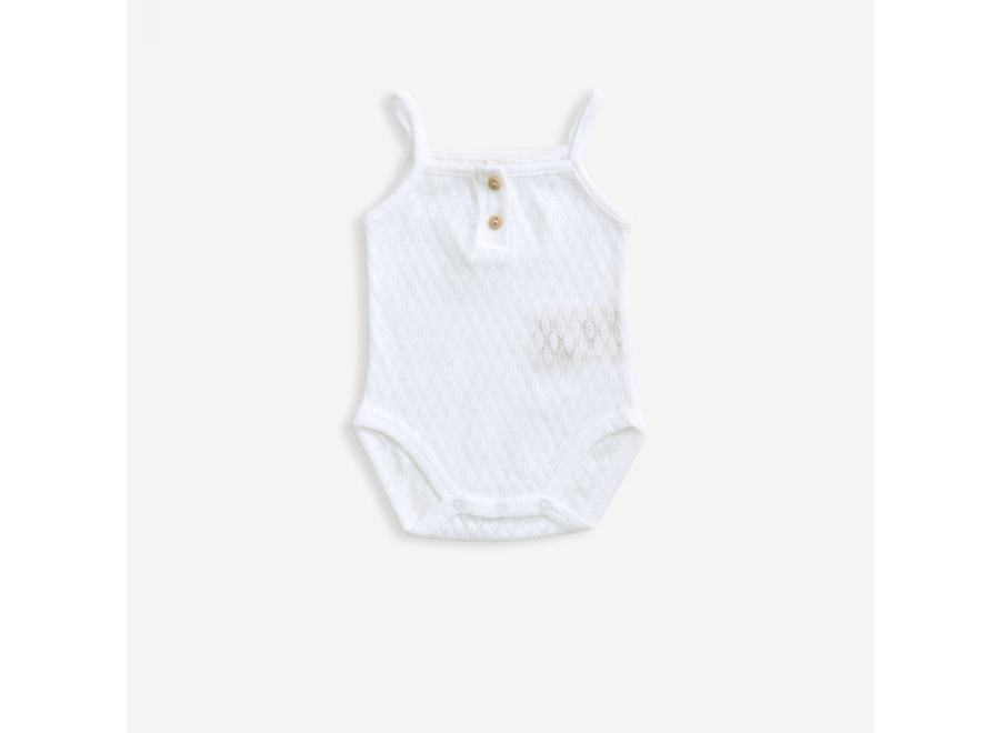 Body with straps  Cotton