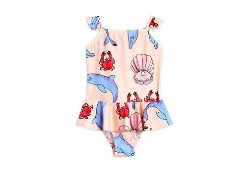 Mini Rodini Dolphins skirt swimsuit Multi