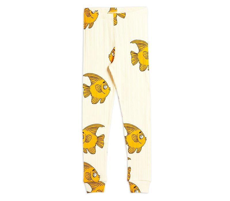 Fish aop leggings Offwhite