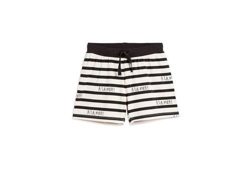 Mini Rodini A la mer shorts TENCEL™ Offwhite