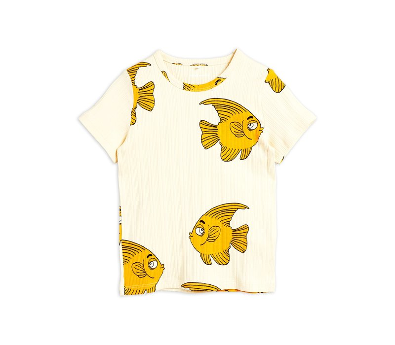 Fish ss tee Offwhite