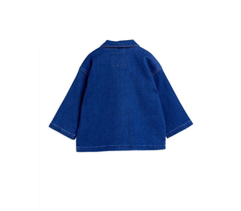 Denim safari jacket Blue