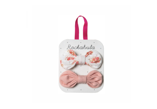 Rockahula Kids HIBISCUS BOW CLIPS