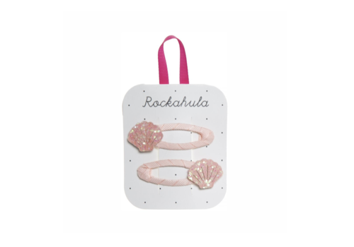 Rockahula Kids SHIMMER SHELL CLIPS PINK