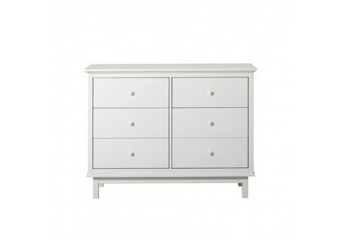 Oliver Furniture Seaside dresser with 6 drawers