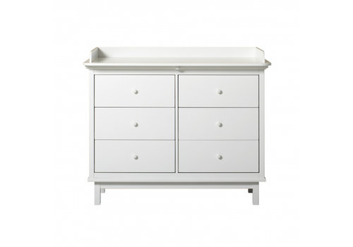 Oliver Furniture Seaside nursery dresser with 6 drawers + Seaside nursery top