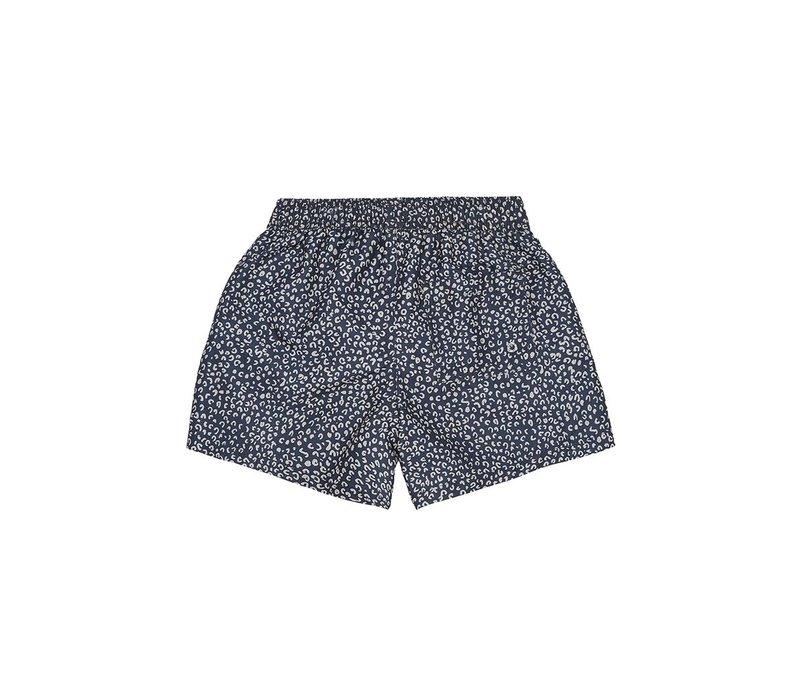 Dandy Swim Pants, Dress Blue, AOP Leospot