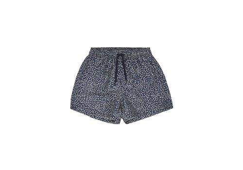 Soft Gallery Dandy Swim Pants, Dress Blue, AOP Leospot