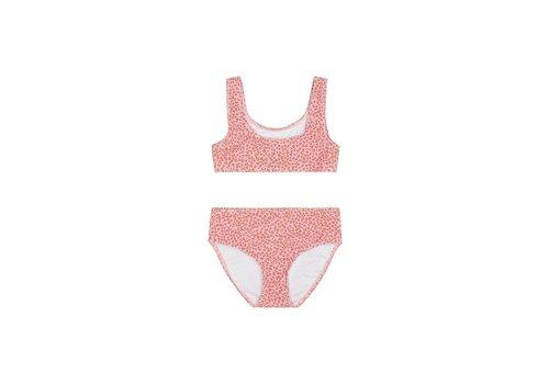 Soft Gallery Faunia Bikini, Rose Cloud, AOP Leospot