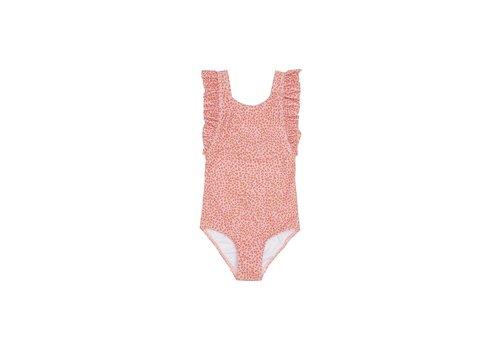 Soft Gallery Ana Swimsuit, Rose Cloud, AOP Leospot