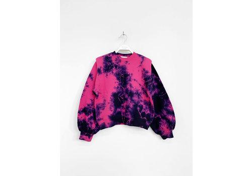 Les Coyotes de Paris Alison pop pink tie dye