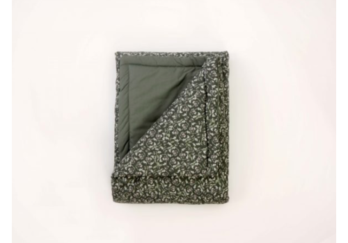 Garbo & Friends Floral Moss Bed Quilt Single