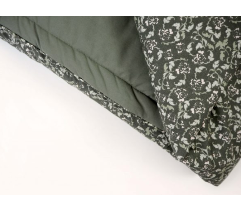 Floral Moss Bed Quilt Single