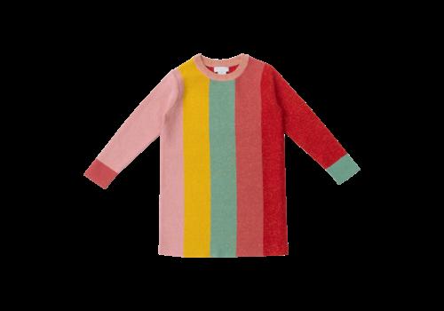 Stella McCartney Kids Lurex Knit Dress Multicolor