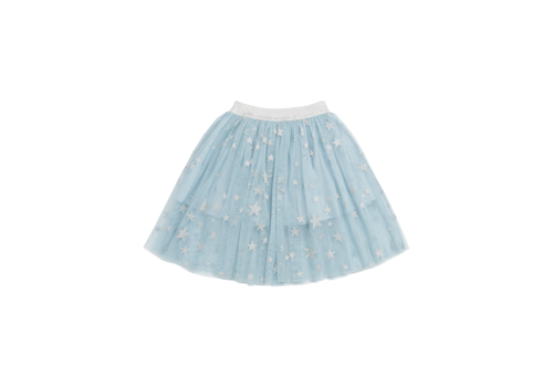 Stella McCartney Kids Silver Stars Tulle Skirt Silver Sta