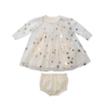 Stella McCartney Kids Gold Stars Tulle Dress Gold Stars