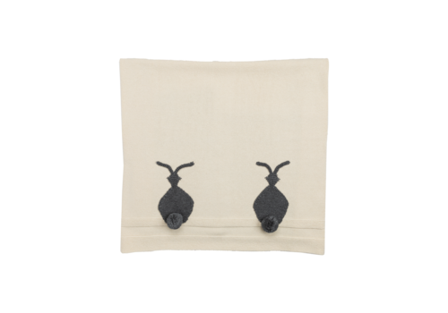 Stella McCartney Kids Bunny Knit Blanket Cream
