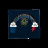 Stella McCartney Kids Baby Weather Knit Blanket Navy